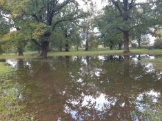 Povodně v Kvasicích 2020