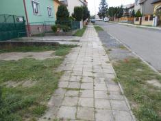 Rekonstrukce chodníků vulici Zahradní aBělovská 20202