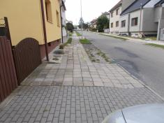 Rekonstrukce chodníků vulici Zahradní aBělovská 20204