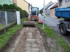 Rekonstrukce chodníků vulici Zahradní aBělovská 20205
