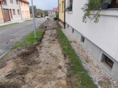 Rekonstrukce chodníků vulici Zahradní aBělovská 20206