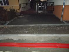 Rekonstrukce chodníků vulici Zahradní aBělovská 202013