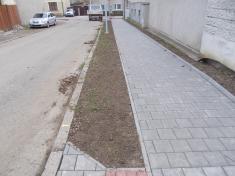 Rekonstrukce chodníků vulici Zahradní aBělovská 202018