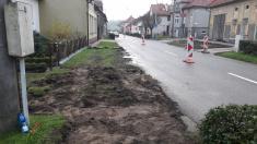 Rekonstrukce chodníků vulici Zahradní aBělovská 202020