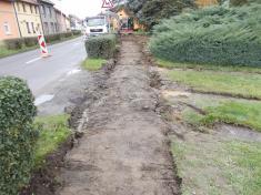 Rekonstrukce chodníků vulici Zahradní aBělovská 202022