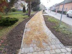 Rekonstrukce chodníků vulici Zahradní aBělovská 202034