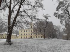 První sníh ve Kvasicích 2020