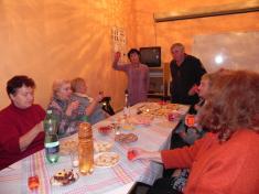 Senioři z Kvasic se loučili se starým rokem 2018