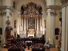 Adventní koncert Evangelické konzervatoře Olomouc